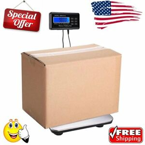 300kg 660lb Digital Postal Price Scales Platform Shipping Scale With Charger Go1