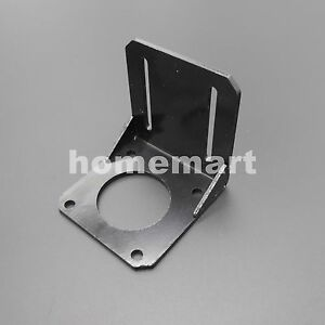 For 57mm Nema23 Stepper Motor Alloy Steel Mounting Bracket Brushless Servo Mount