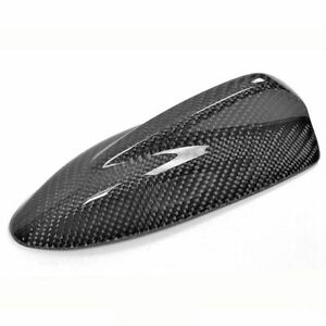 Universal Fitted Real Carbon Fiber Shark Fin Roof Decoration Antenna Style E