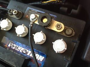 Golf Cart Battery Isolation Cut Off Out Safety Switch Anti Theft Made In The Usa