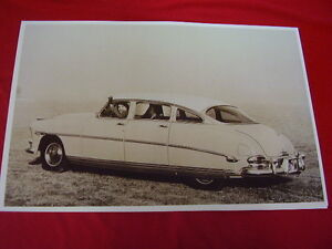 1952 Hudson Hornet Sedan Big 11 X 17 Photo Picture
