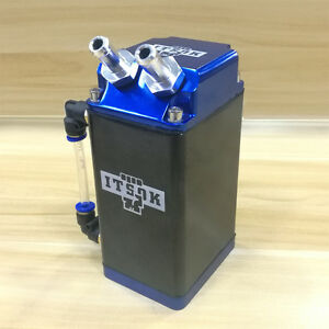 Itsok Engine Oil Reservoir Catch Can Tank Kit Blue For Ford F 350 Tuning Trend