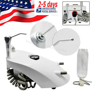 Usa Ship Dental Portable Air Turbine Unit Triple Syring 2hole Fit Compressor Ce