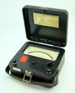 Weston Electrial Dc Milliammeter 0 500 Model 622