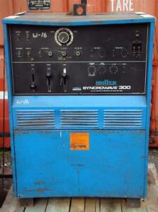 Miller Syncrowave 300 Ac dc Tungsten arc Welding Power Source 230 460v 1 Phase