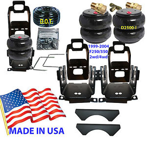 B Towing Leveling Kit Airbag Assist Ford F250 350 1999 04