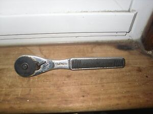Vintage Craftsman 43764 Lifetime 1 4 Drive Rare Ratchet Made In Usa