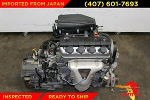 Jdm 2001 2002 2003 2004 2005 Honda Civic Hx 1 5l Replacement Engine For 1 7l