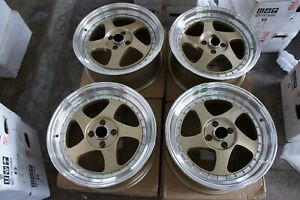 For Miata Civic Accord Jdm 17 Rotifom Style Wheels Meister Sp1 S1 Borbet