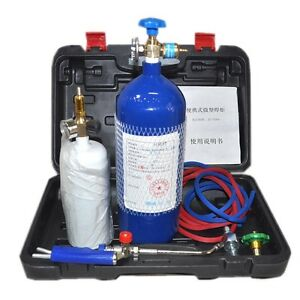 Portable Torch Refrigeration Repair Welding Tool Set 2l Small Oxygen Welding