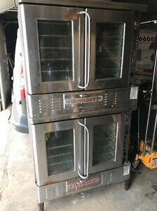 Blodgett Double Stack Convection Ovens Used