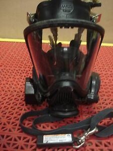 Msa Ultra Elite Full Facepiece Mask Size Large Hud Clear Command Id Tag