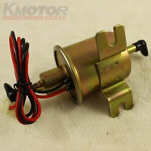 New Low Pressure Electric Fuel Pump 12v For Motorcycle Carburetor Hep 02a Atv