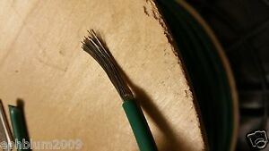 Carol C2107a 10awg Fine Strand Tinned Copper Pvc Hook Up Wire Awm Mtw Grn 100ft