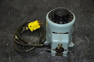 Powerstat S1138 Variac Variable Autotransformer 0 140v