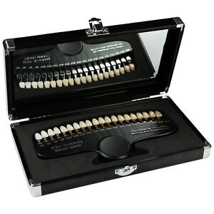 Teeth Whitening Dental Shade Guide Tooth Bleaching Shadeguide 20 Colors