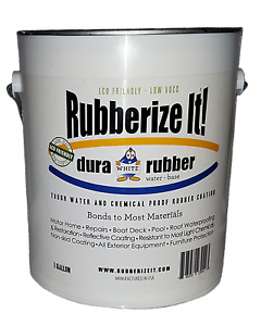Dura rubber Liquid Rubber 1 Gallon White Now Available In Over 100 Colors