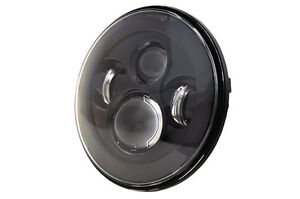 Motorcycle 7 Osram Led Round Headlight Sealed Beam Projector Bulb For Harley