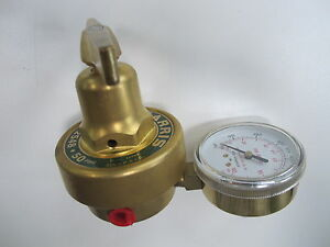 Harris 2548 50 1 4 Oxy Pipeline Welding Pressure Regulator 0 50 Psig Brass