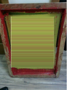 Pack Of 14 Screen Frames various Sizes