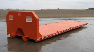 Rolloff Cable Lift Hooklift Rollback Body Machinery Hauler Stake Body