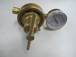 Harris 447 200 1 4 r Pipeline Welding High Flow Pressure Regulator 0 200 Psig
