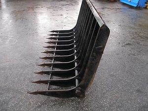 Nice 86 Inch Usa Attachment Heavy Duty Root Rake