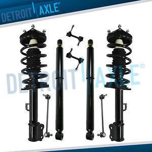 8pc Front Struts Rear Shock Sway Bar Links For 09 12 Ford Escape Mercury Mariner