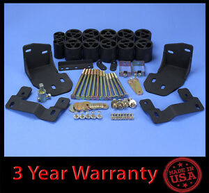 2001 2002 Ford Explorer Sport Track 3 Full Body Lift Kit Front