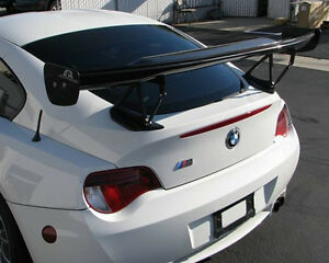Apr Performance Carbon Fiber Gtc 200 Adjustable Wing Spoiler For Bmw E85 Z4m New