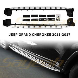 Side Step For Jeep Grand Cherokee 2011 2019 Nerf Bar Running Board Protect