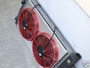 Chevy S10 S15 V8 Swap Ff Dynamics Extreme Electric Twin Cooling Fan Kit Custom