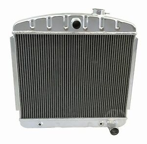 Kks Motorsports Aluminum Radiator For 1955 1957 Chevrolet Bel Air