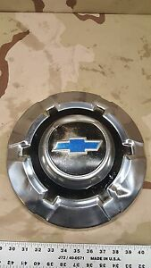 1 68 72 Chevy Pickup Truck Dog Dish Wheel Hub Cap Oem 1 2 1500