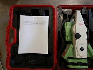 Leica Ts11 Total Station For Surveying