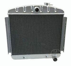 Kks Motorsports Aluminum Radiator For 1955 1956 Chevrolet Bel Air