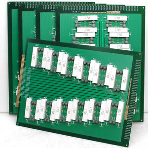 Lot 5x 600w Stresstest Arizona Dummy Load Test Board Pcb Individual Resistors