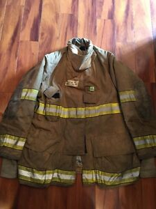 Firefighter Turnout Bunker Gear Coat Globe 47x35 Halloween Costume