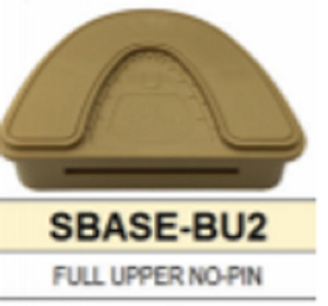 S Base Denture Model Full Upper With No Pins