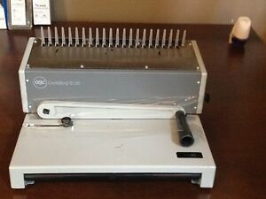 Gbc C150 Combbind Hole Punch Binder Binding Machine Combo 20 Sheets punch 425p