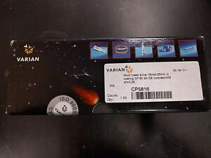 Varian Gas Chromatography Wcot Fused Silica Column Cp5816