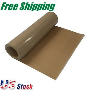 Us Stock 39 X 5 Yard Teflon Fabric Sheet Roll For Sublimation Printing