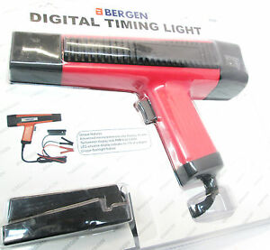 Bergen Professional Inductive Digital Timing Light Led Tacho Readout 3199