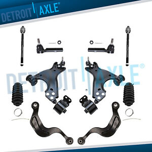 New 10pc Complete Front Upper And Lower Control Arm Suspension Kit For Buick