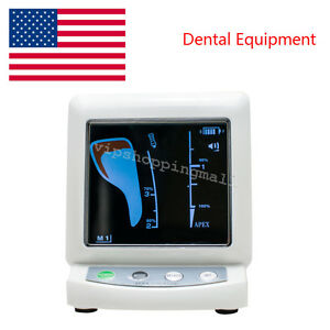 Us Stock Dental Endodontic Color Lcd Screen Apex Locator Root Canal Dentist Use