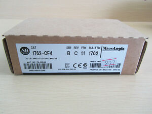 New Sealed Ab Plc Analog Output Card Allen Bradley 1762 of4