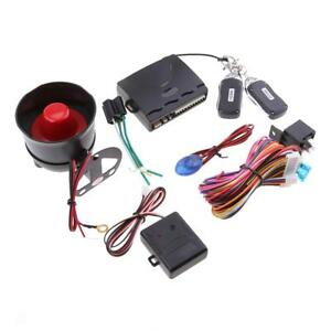 Magideal Car 1 Way Alarm Security System Remote Central Lock Kit Anti theft