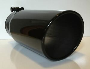Ford Powerstroke Gloss Black Diesel Exhaust Tip 4 Inlet 5 Outlet 12 Long