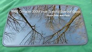 2002 Chrysler 300m Year Specific Sunroof Glass Panel Oem Free Shipping