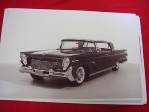 1958 Lincoln 4dr Hardtop 11 X 17 Photo Picture